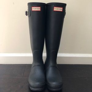 Women's Hunter Rain Boot - Tall Original Black